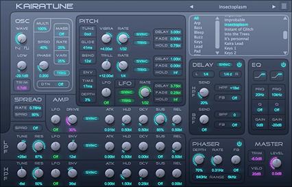 Kairatune x64 full screenshot