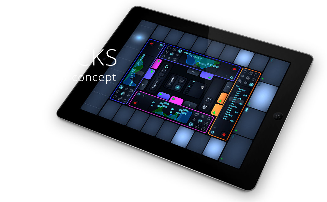 Cotracks collaborative multiuser music app for iPad is a brilliant concept