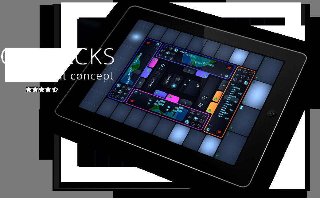Cotracks collaborative multiuser music app for iPad is a brilliant concept